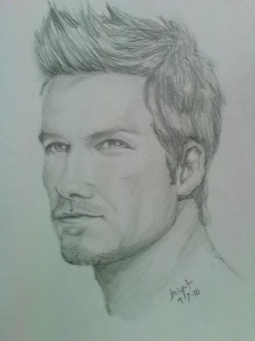 David Beckham by marcfitzgerald